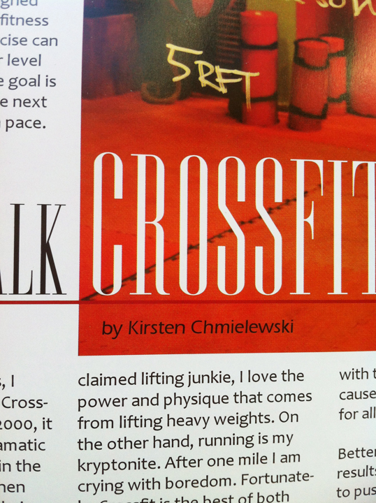 Crossfit page