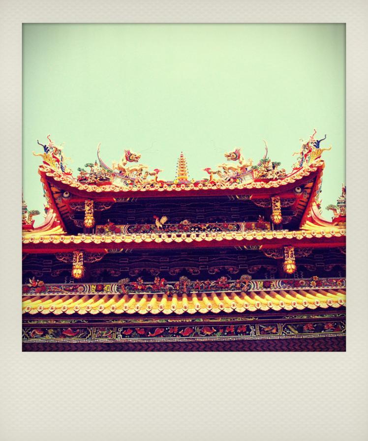 china temple polaroid