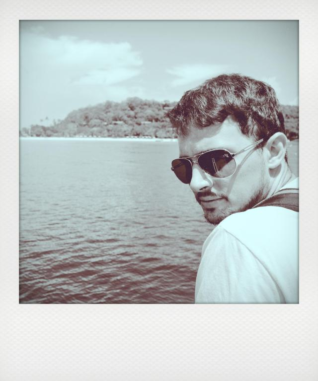 Peter in shades- Phi Phi Islands