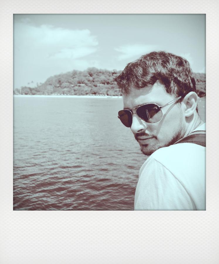 Peter in shades- Phi Phi Islands