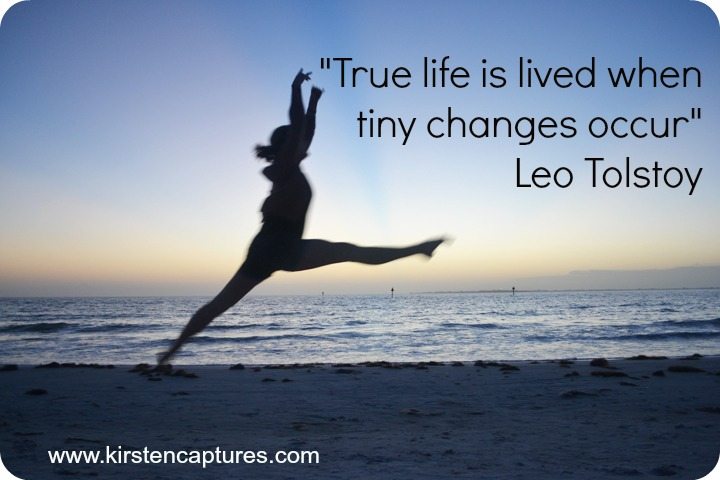 true life is lived when quote