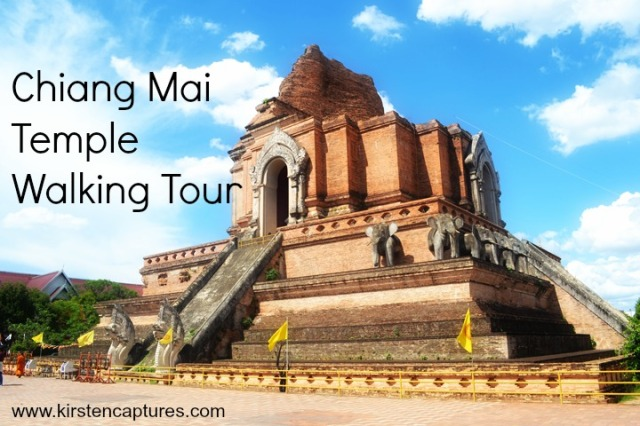chiang mai temple walking tour
