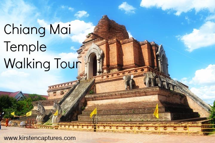 chiang mai temple walking tour