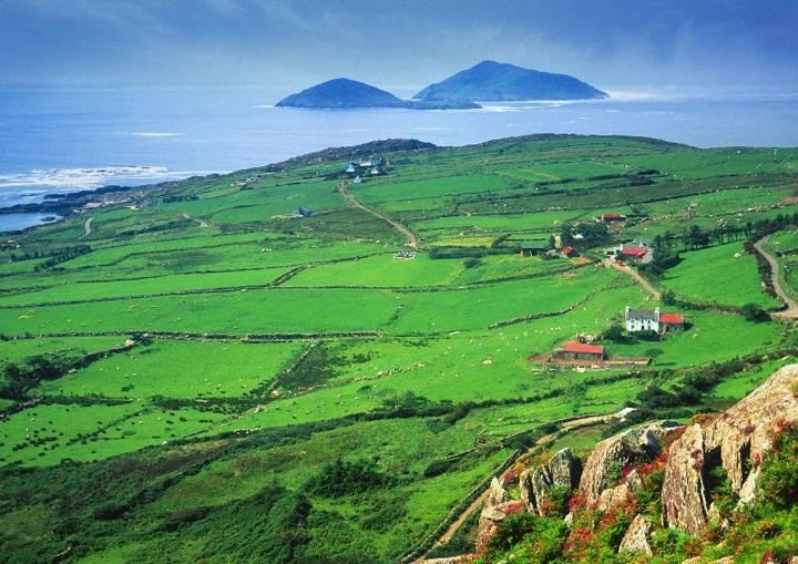 green pastures, county kerry, ireland