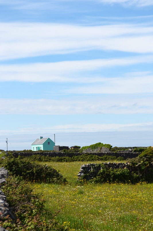 Farmhouse on Inis Mor, Aran Islands, Ireland