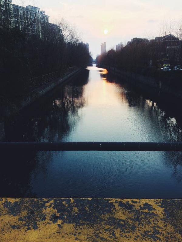 Jiuting waterway