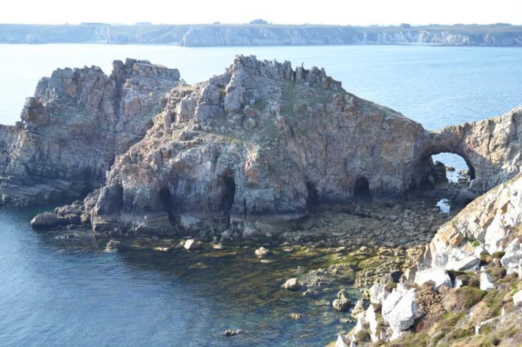 Rocks in Breton, France