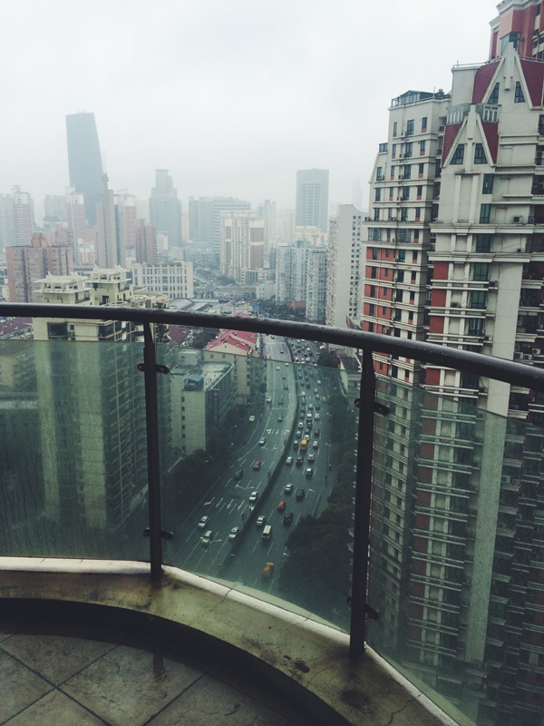 Busy Changning District of Shanghai