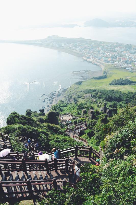 Volcanic view in Jeju, South Korea